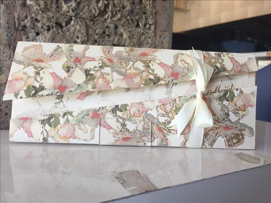 کارت عروسی زبرجد