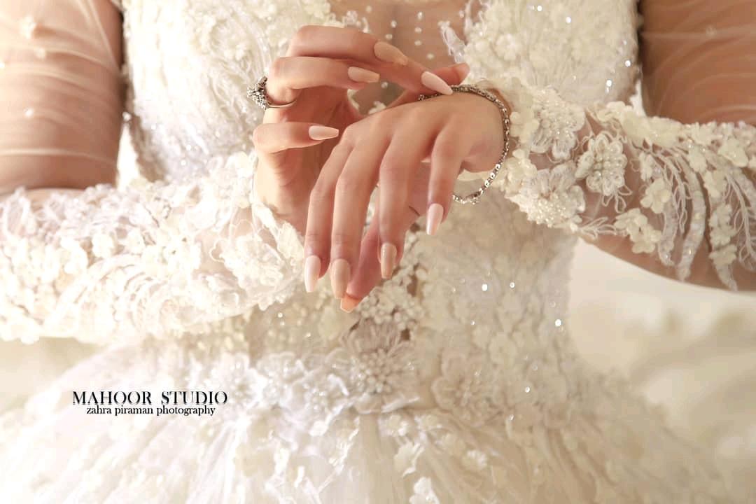 عکس عروس قم