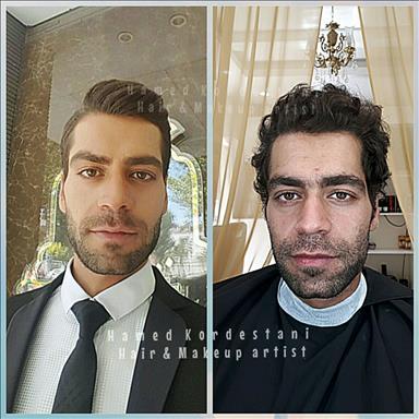 آرایشگاه داماد حامد کردستانی 5