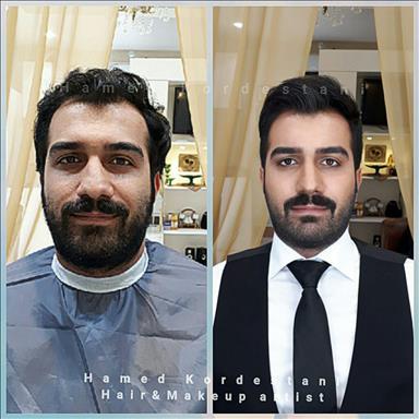 آرایشگاه داماد حامد کردستانی 4
