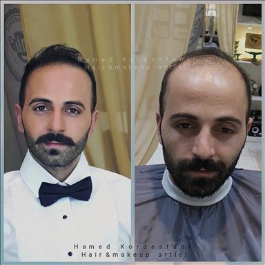 آرایشگاه داماد حامد کردستانی 1