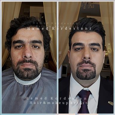 آرایشگاه داماد حامد کردستانی 3