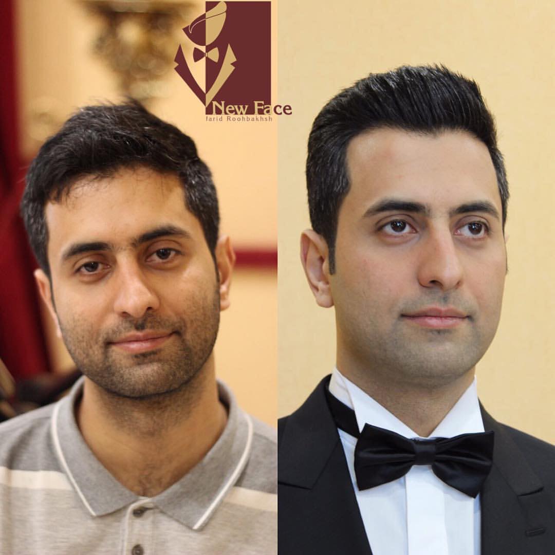 آرایشگاه مردانه مشهد