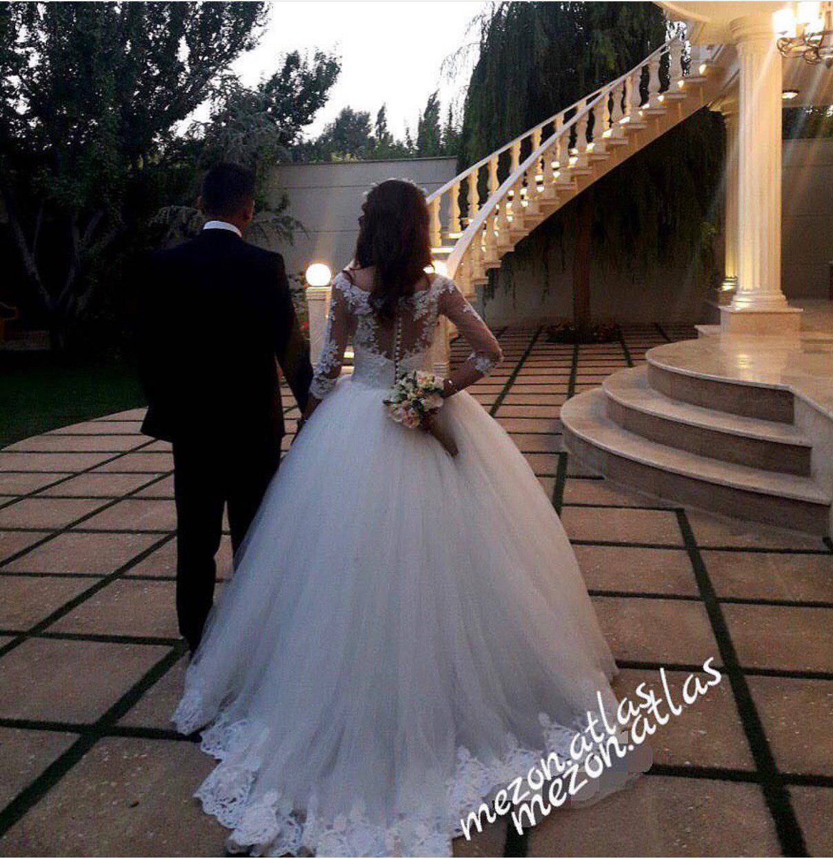 مزون لباس عروس اطلس شهر قدس