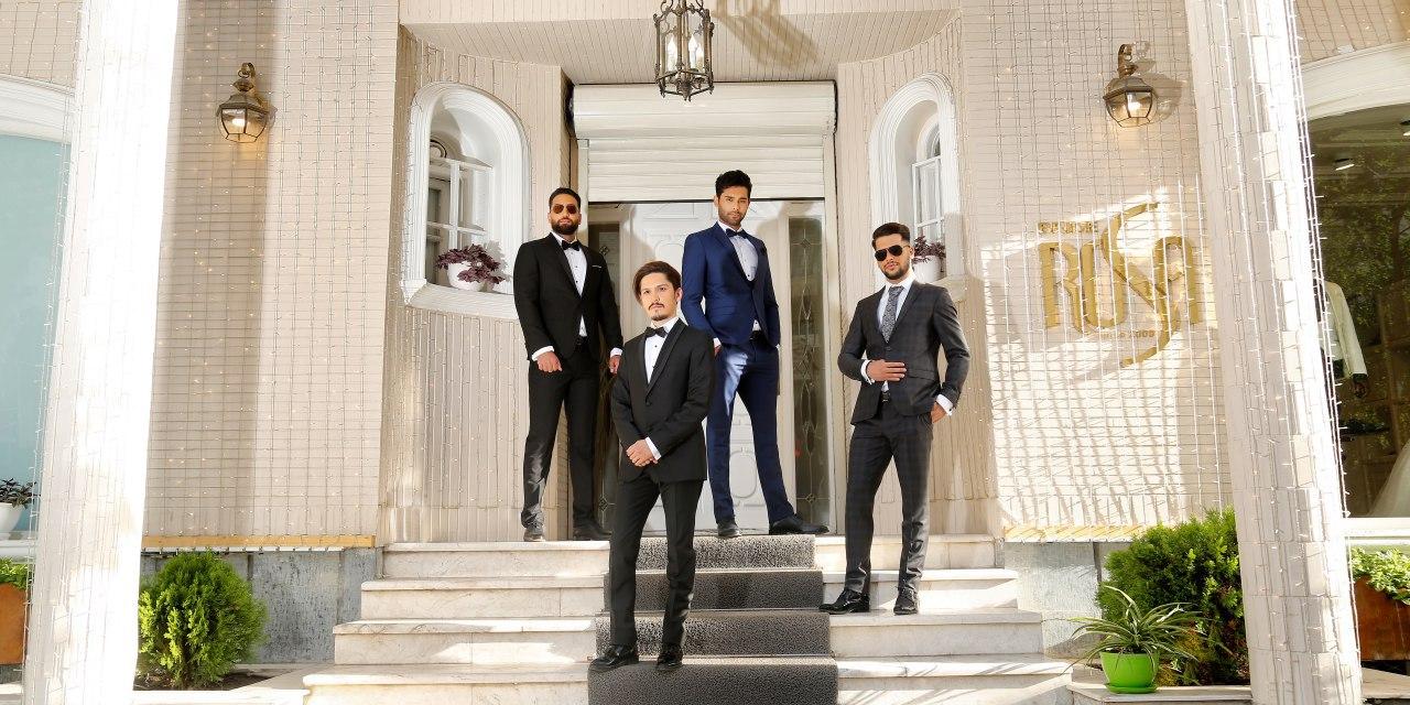 مجموعه تخصصی پوشاک داماد مجید هادی زاده(برایدرزا) 3