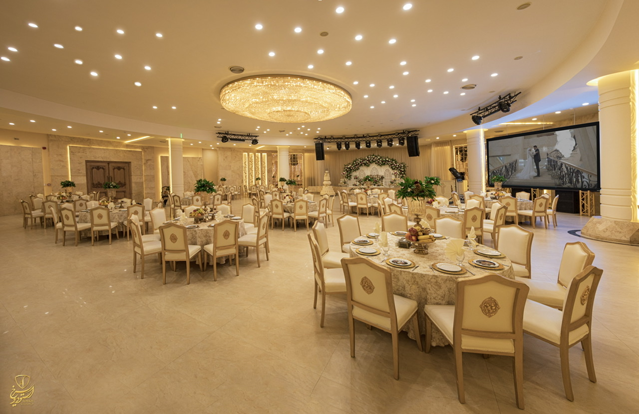 تالار قصر مجلل فرمانیه  مشهد