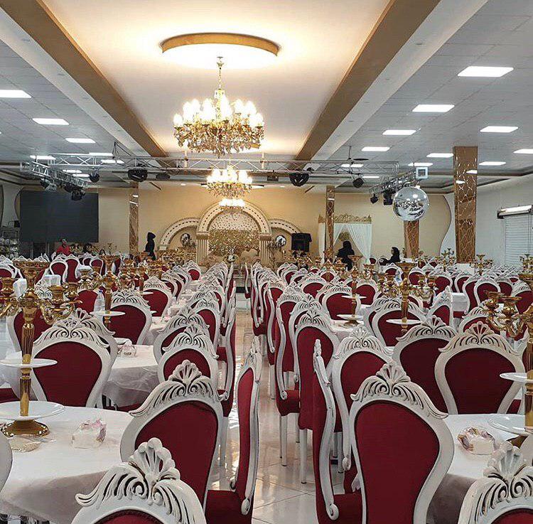 تالار بزرگ قصر خرم آباد