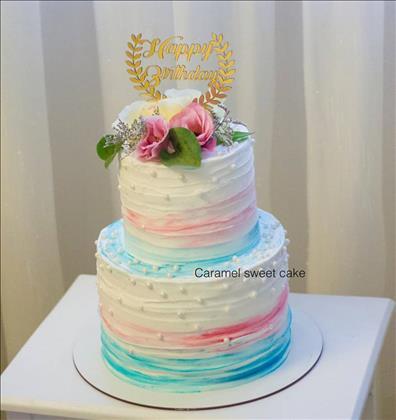 کیک و شیرینی  خانگی سوییت کارامل