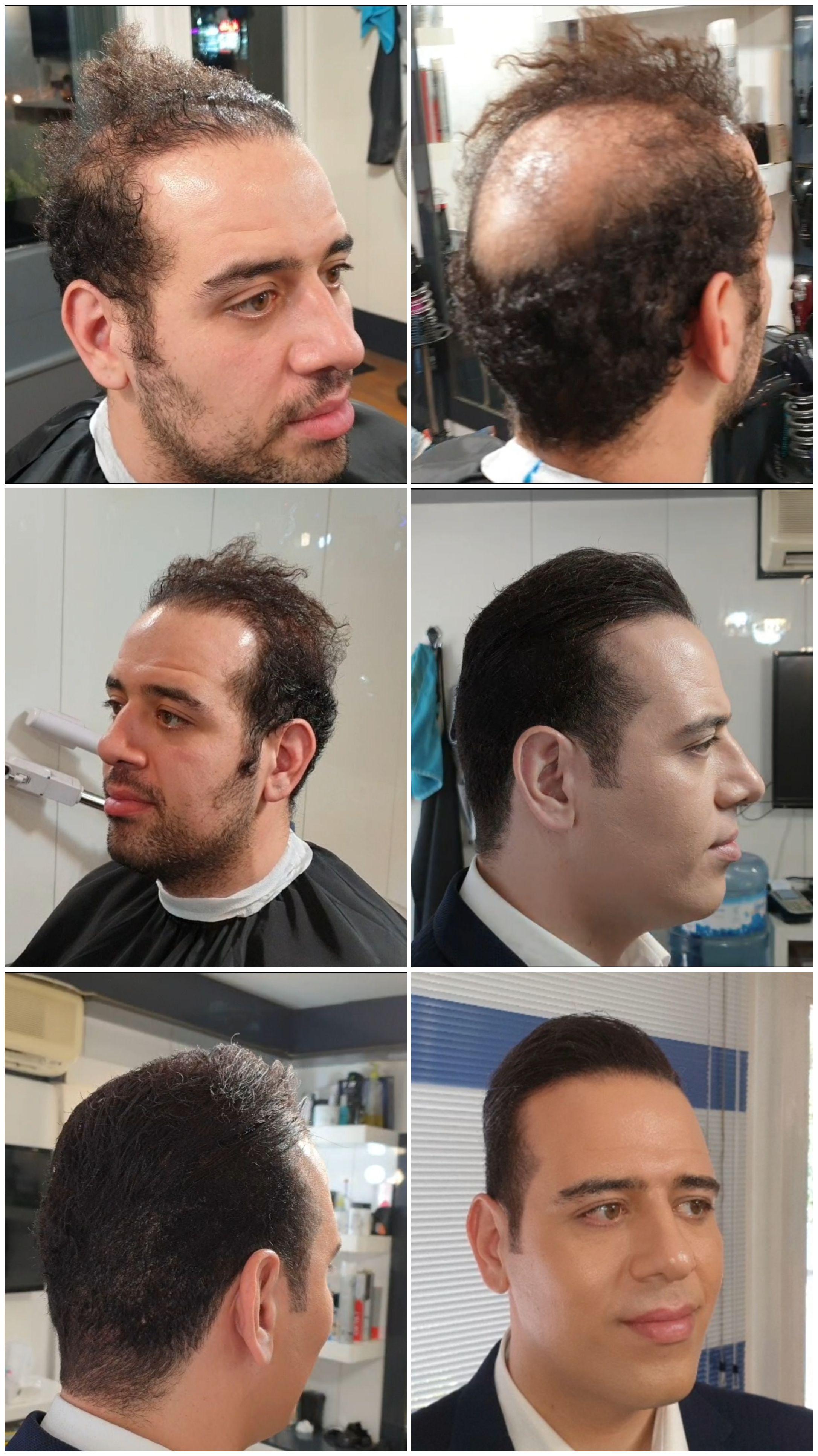 آرایشگاه داماد حامد 9