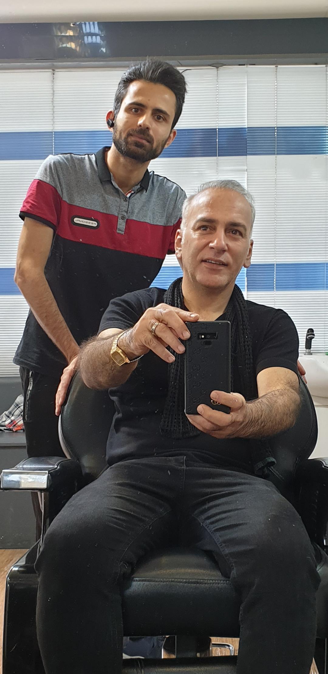 آرایشگاه داماد حامد 10