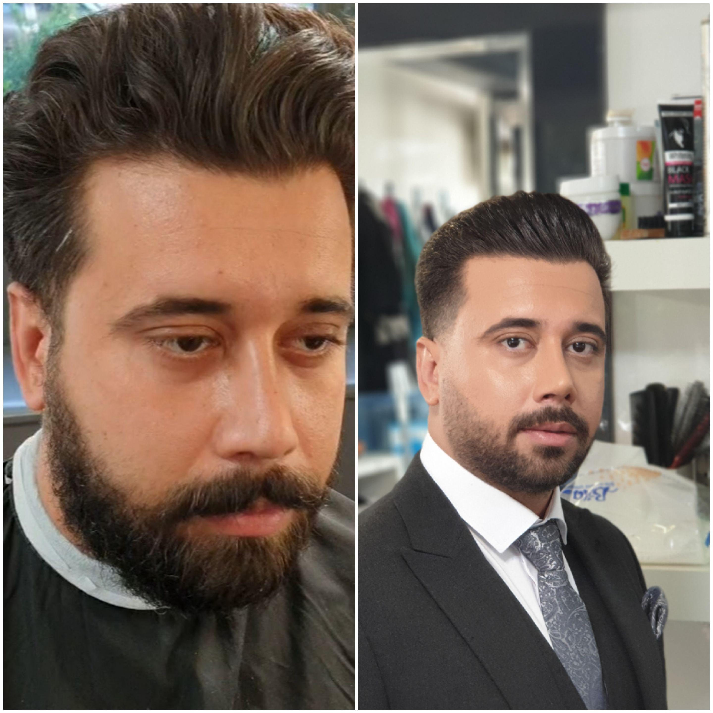 آرایشگاه داماد حامد در تهران