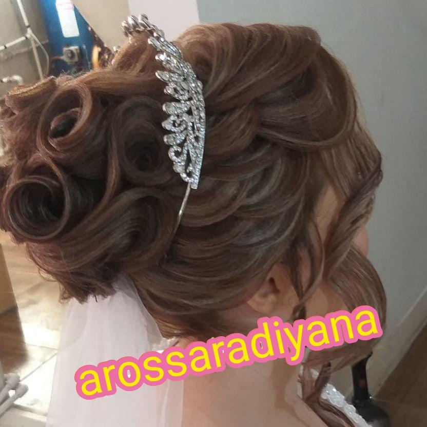 آرایش عروس اسلامشهر