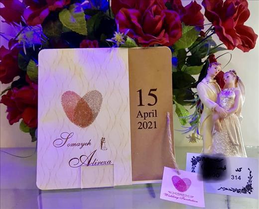 گالری کارت عروسی ماه وش