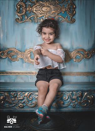 آتلیه کودک نقره ای