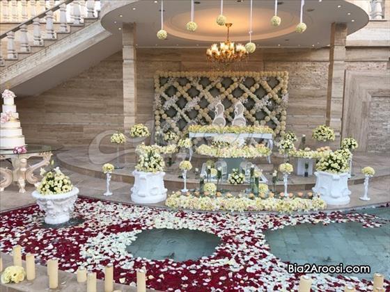 باغسرای آندریا مشهد,باغ تالار اندریا